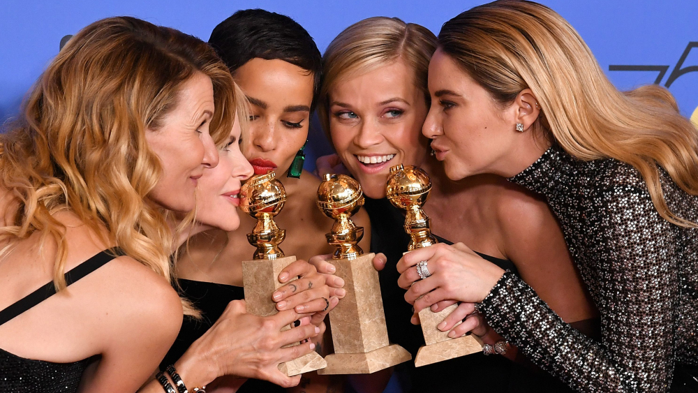 75th Annual Golden Globe Awards, Press Room, Los Angeles, USA - 07 Jan 2018